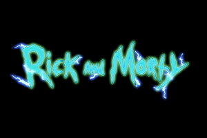 rick and morty simple background cartoon