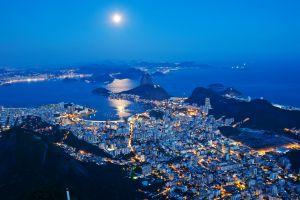 rio de janeiro night city
