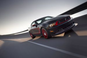 road ford mustang black cars motion blur ford car