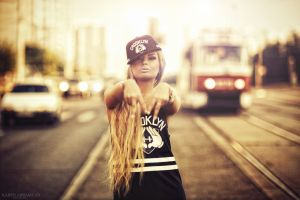 road karen abramyan women blonde women outdoors model