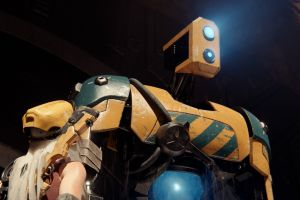 robot video games recore