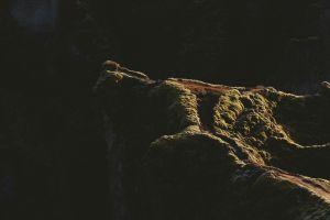 rock landscape stones dark
