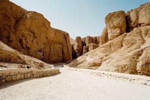 rocks landscape egypt road