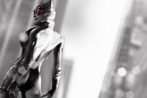 rocksteady studios batman: arkham city video games catwoman