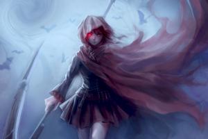 ruby rose (character) rwby anime girls anime