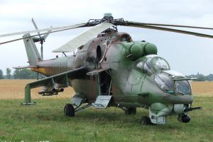 russian air force mil mi-24 military helicopters