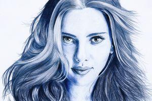 scarlett johansson artwork actress