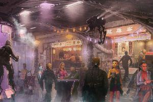 science fiction artwork futuristic city futuristic