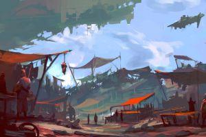 science fiction artwork markets