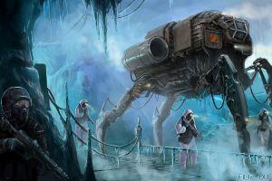 science fiction futuristic weapon 2014 (year) artwork filip dudek