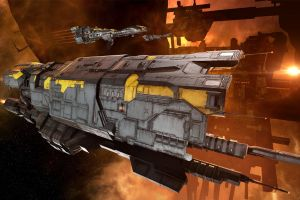 science fiction minmatar eve online space video games spaceship