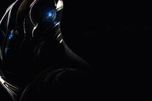 science fiction render dark