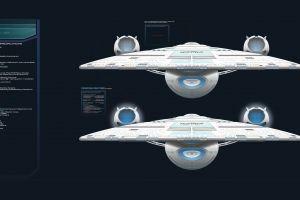 science fiction uss enterprise (spaceship) star trek spaceship infographics