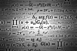 science formula mathematics equations