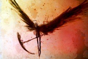 scythe wings death fantasy art