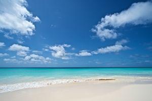 sea clouds beach landscape tropical