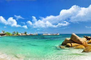 sea coast resort beach tropical