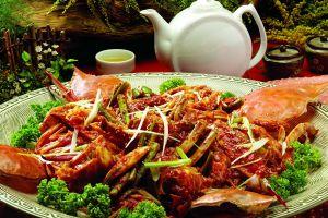 sea food food tea broccoli