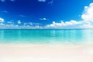 sea landscape beach tropical