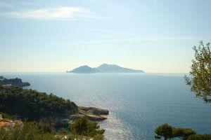 sea landscape coast island