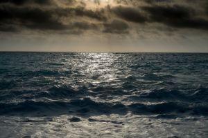 sea landscape nature color correction horizon
