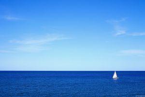 sea sailing blue photography boat sailing ship water