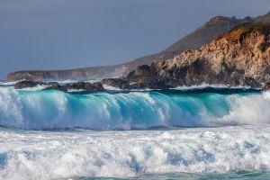 sea waves nature