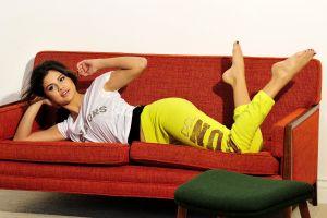 selena gomez women barefoot celebrity brunette