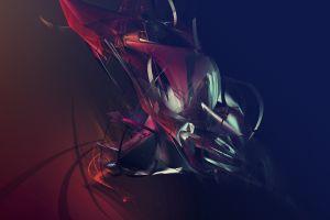shapes abstract digital art justin maller