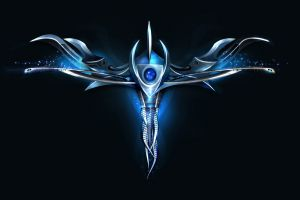 shapes blue vector vector art
