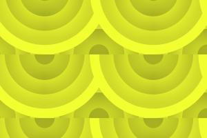 shapes pattern yellow