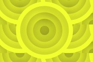 shapes yellow pattern
