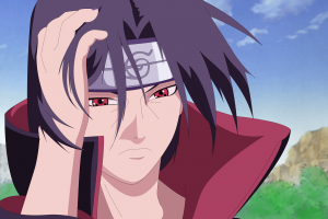 sharingan uchiha itachi naruto shippuuden anime