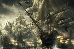 ship sailing ship artwork