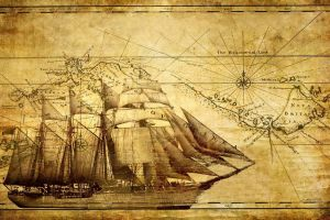 ship vehicle map artwork