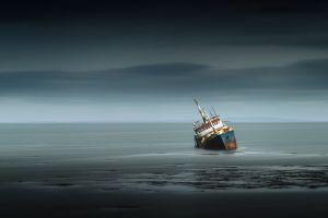 ship vehicle sea wreck