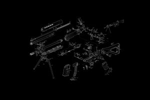 sig sig sg 550 exploded-view diagram gun