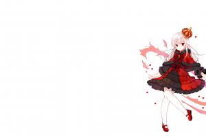 simple background anna kushina lolita fashion