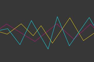 simple background minimalism lines digital art