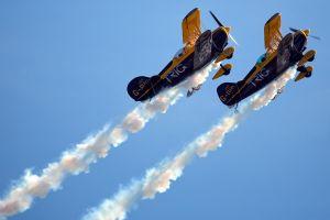 sky airplane airplane