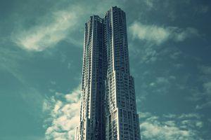 sky building skyscraper