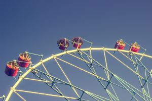 sky ferris wheel construction