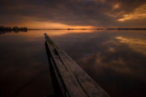 sky lake reflection