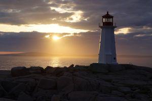 sky lighthouse coast