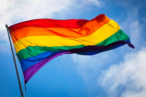 sky pride lgbti colorful flag culture san francisco windy rainbows gay clouds