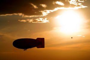 sky vehicle sunlight