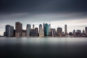 skyscraper city manhattan new york city cityscape