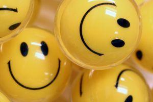 smiley balls smiling happy