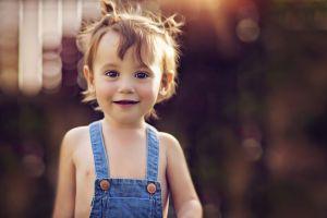 smiling baby children