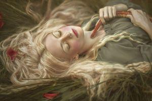 snake a. m. lorek fantasy art women